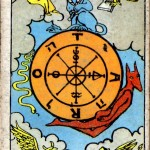 Major Arcana: ไพ่ 10 The Wheel of Fortune