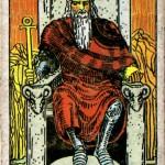 Major Arcana: ไพ่  4 The Emperor